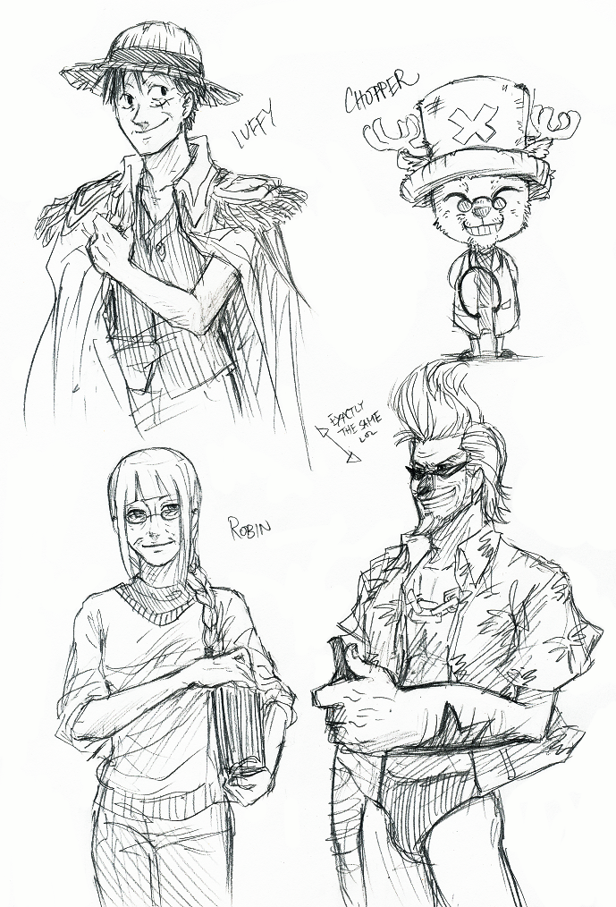 OP - Old Strawhats 2 by FerioWind