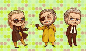 MGS - little old men by FerioWind