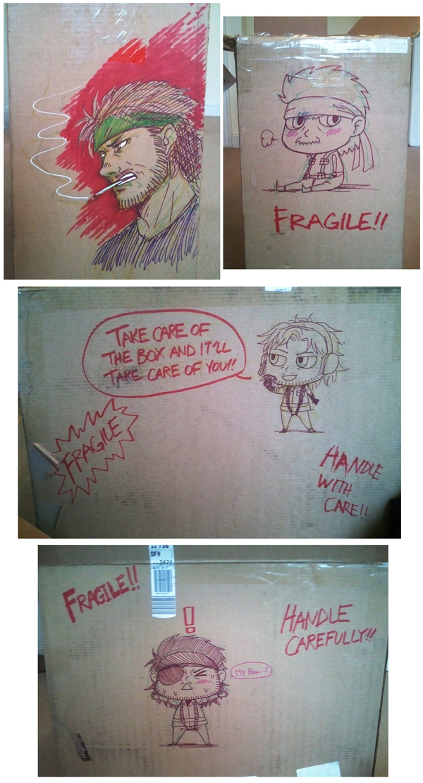 MGS - my cardboard box by FerioWind