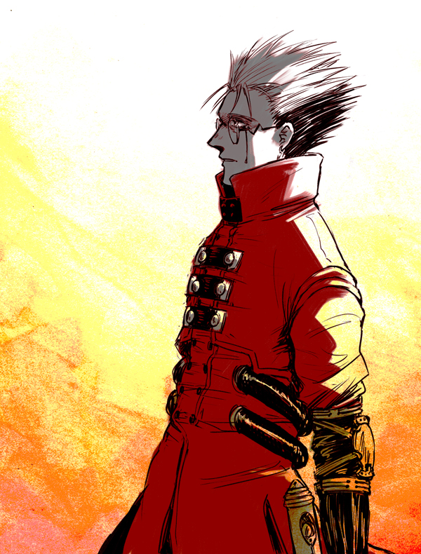 TRIGUN - rage by FerioWind