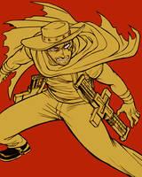TRIGUN - gunslinger by FerioWind