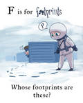 MGS - F is for footprints