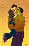 AVENGERS - beauty and the beast