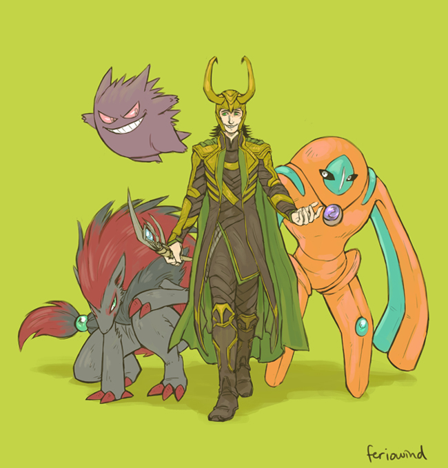 AVENGERS+PKMN - conquer by FerioWind