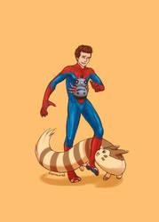 SPIDER-MAN+PKMN - new guy by FerioWind