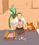 AVENGERS+PKMN - a bit of an enthusiast