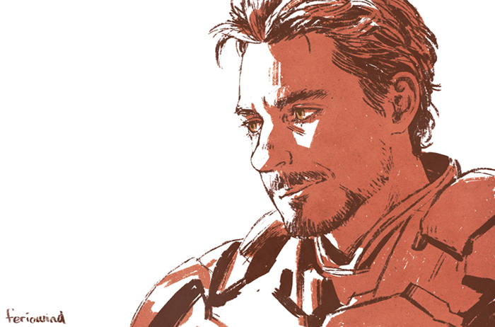IM - tony portrait by FerioWind