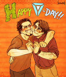AVENGERS - Happy V-Day by FerioWind