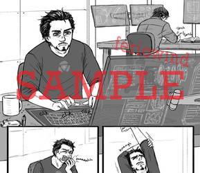 AVENGERS - sciencebros comic