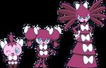 Alternate Shinies: Gothita, Gothorita, Gothitelle