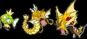Alternate Shinies: Magikarp and (Mega) Gyarados
