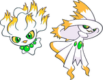 Alternate Shinies: Misdreavus and Mismagius