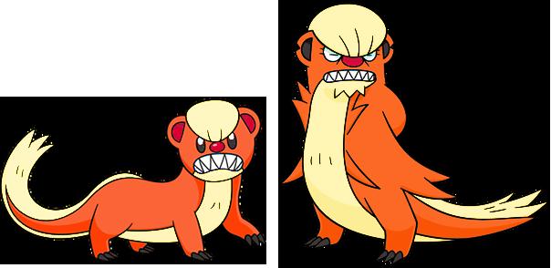 Alternate Shinies: Yungoos and Gumshoos by high-jump-kick