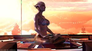 High Meditation - Liara Tsoni Mass Effect