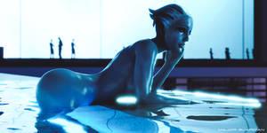 Azur Hotel - Liara Tsoni Mass Effect
