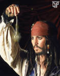 Jack Sparrow Digi Paint