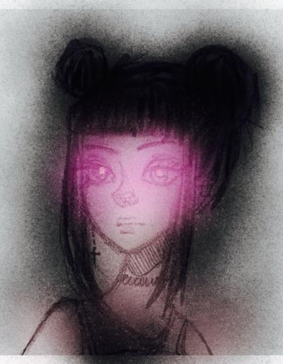 Dark can glow  by KariNikiSama