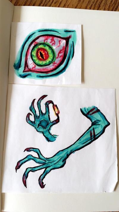 Copic sketches  by KariNikiSama