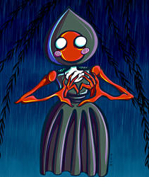 Flatwoods Monster by nuriko-chan