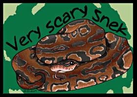 Scary Snek