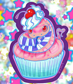 Snek Cupcake