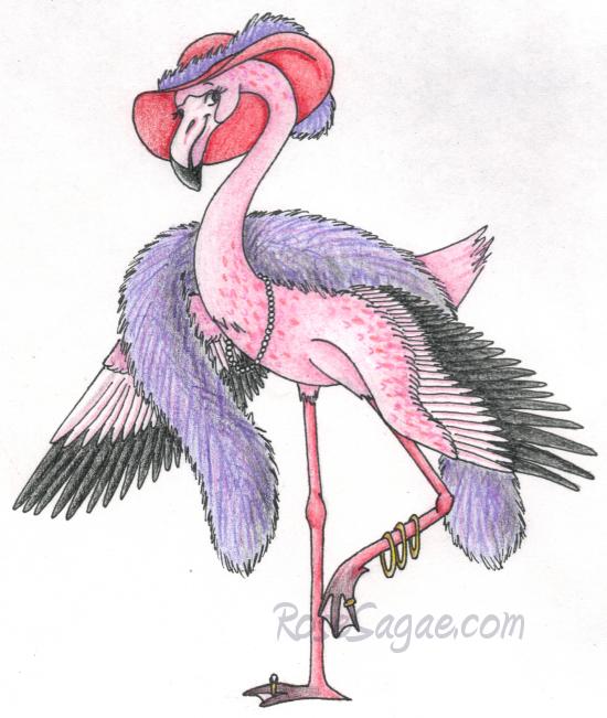 Fabulous Flamingo by RoseSagae