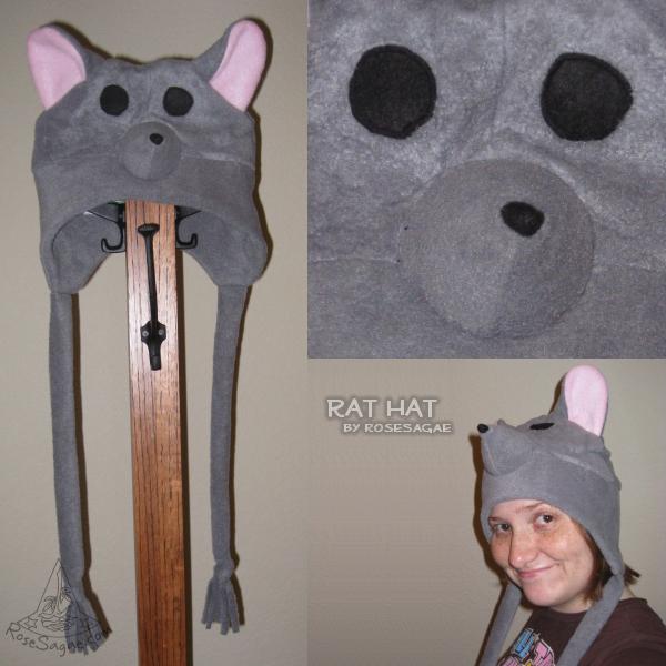 Rat Hat by RoseSagae