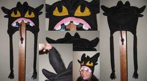 Toothless Hat by RoseSagae