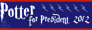 Potter for Prez Bumper Sticker by RoseSagae