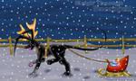 Sleigh through Snowfall