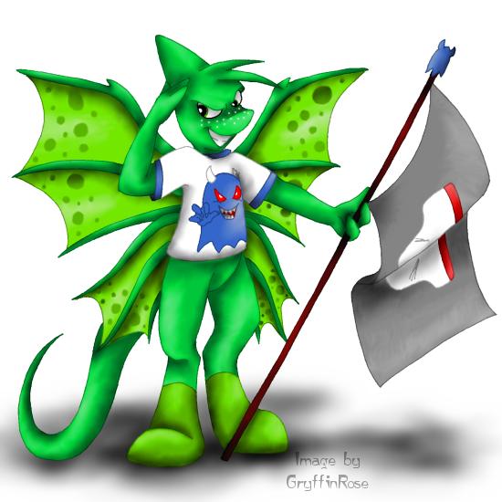 Pant Devil Fan by RoseSagae