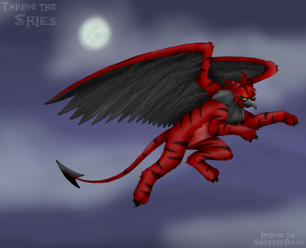 Taking the Skies -Godric- by RoseSagae