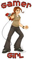 Gamer Girl by RoseSagae