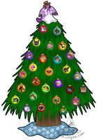 Rose's Christmas Tree 2006 by RoseSagae