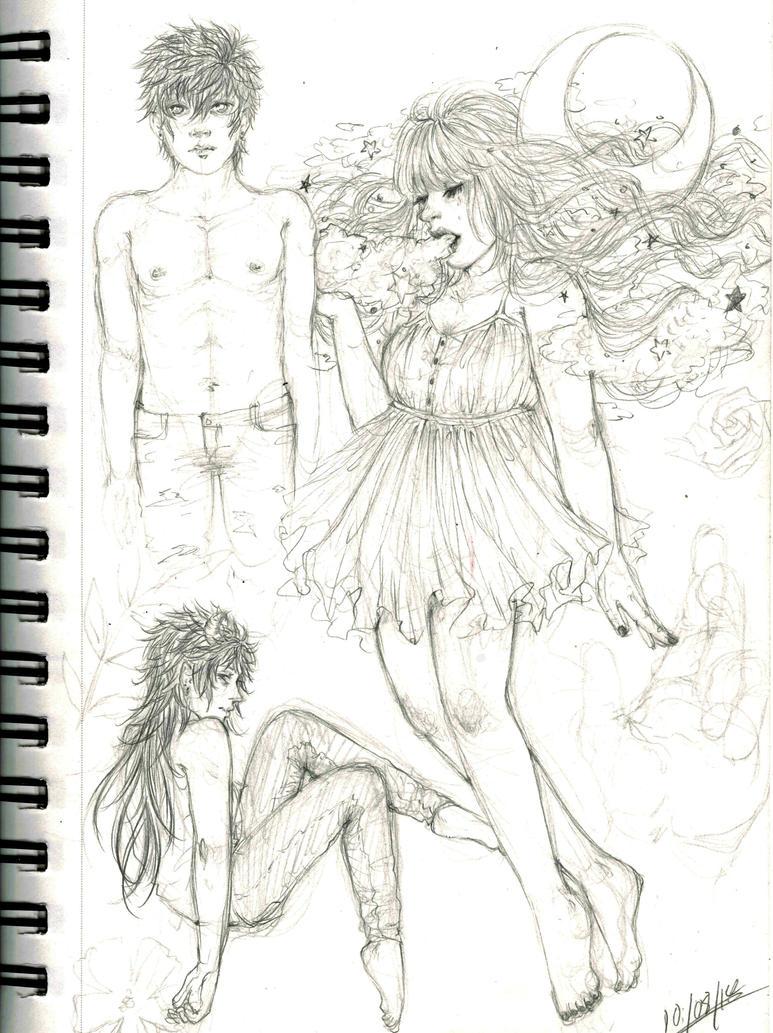 Sketch 129 by Kyaa-L