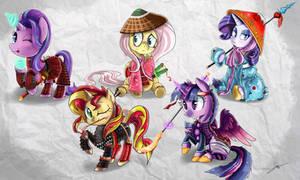 Samurai is Friendship 1 by Shogundun