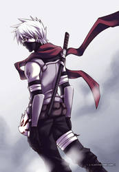 Naruto: Anbu Kakashi by l-s