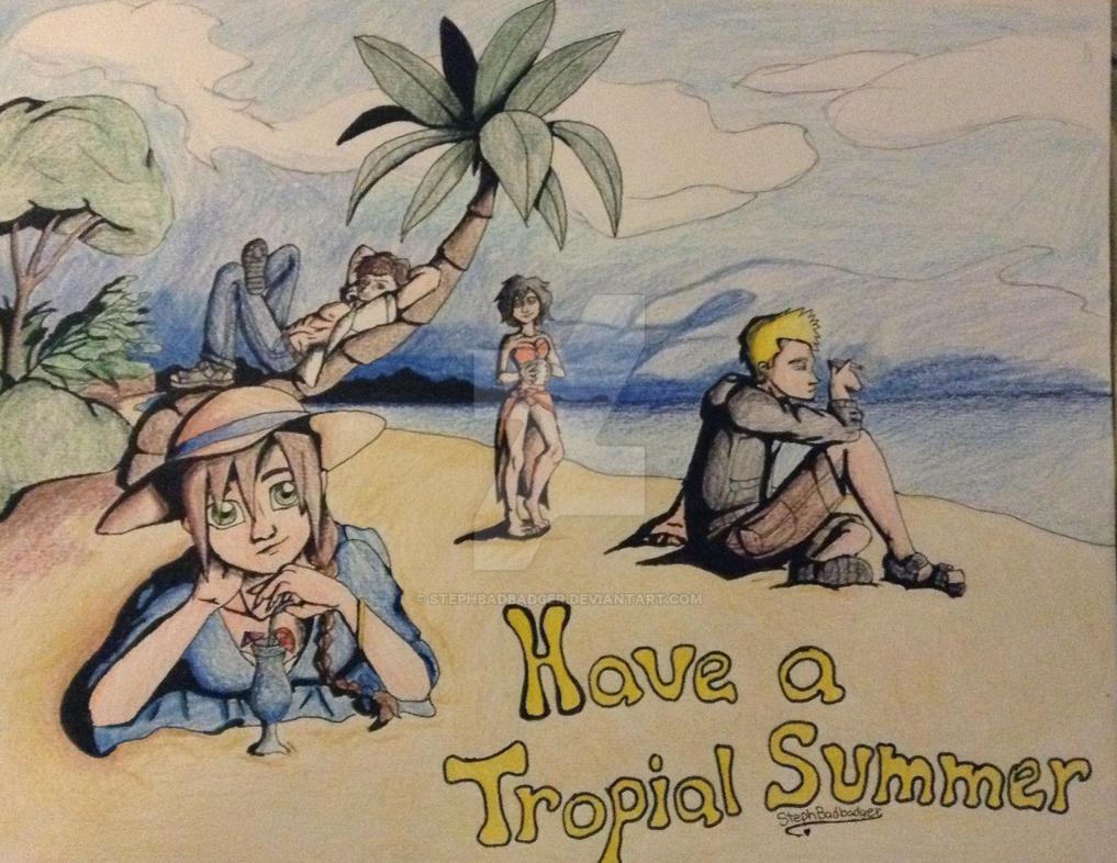 Summer Breeze by stephbadbadger