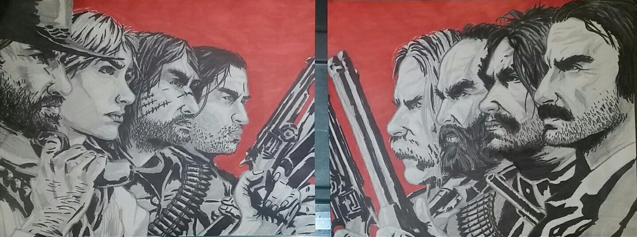 Red Dead Redemption 2 Full Poster