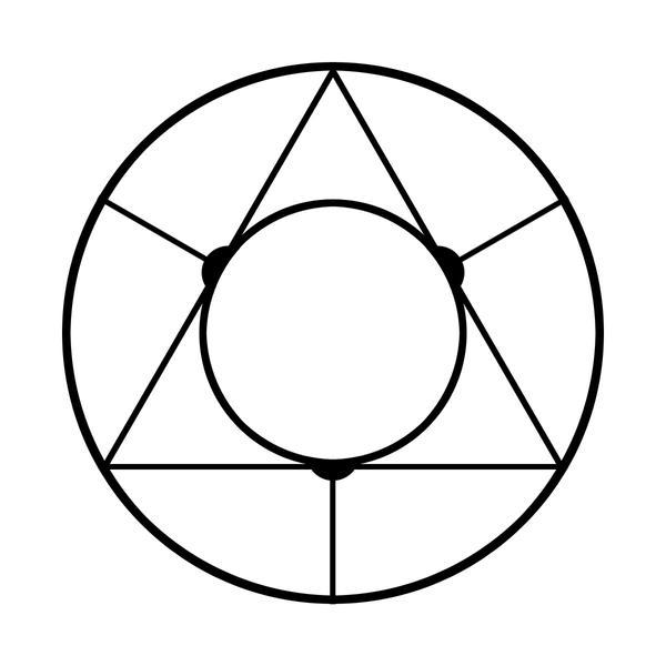 Alchemy exam circle by scholarlybelgarath on deviantart for Circular symbols tattoos