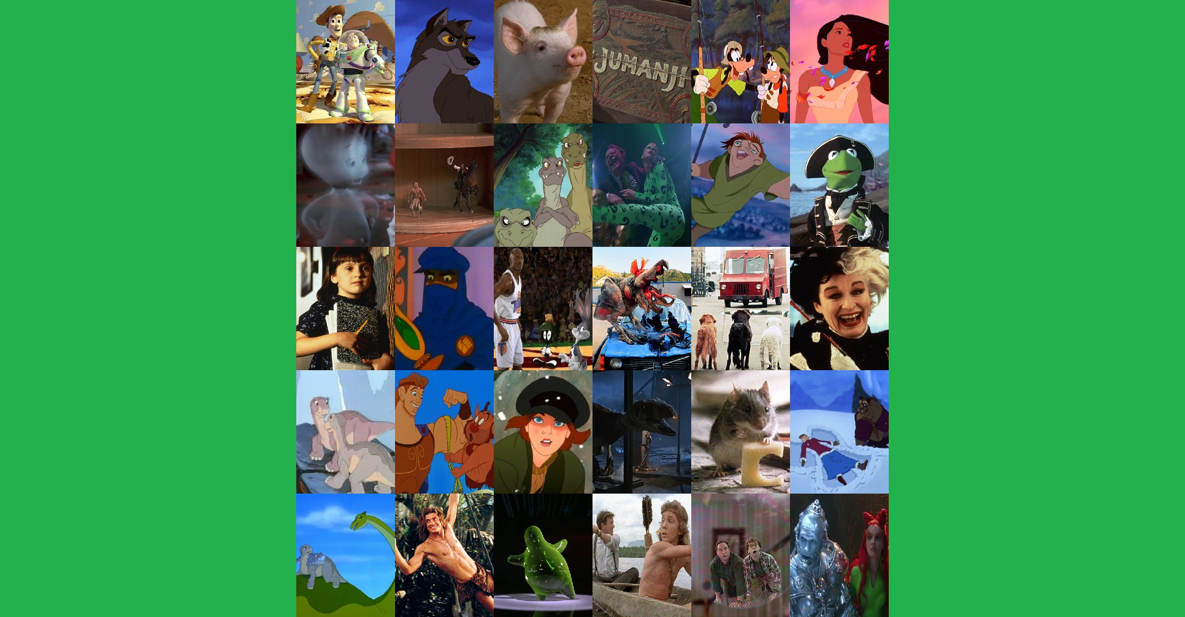 Favorite Movies Part Vii 1995 1997 By Villainsprofile On