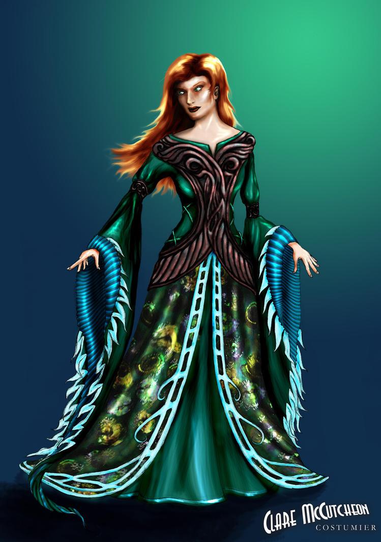 Dune - Jessica Atreides costume design by CostumierClare