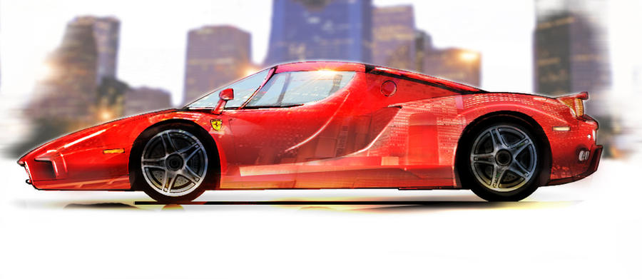 Ferrari Enzo Illustration By Bristock On Deviantart