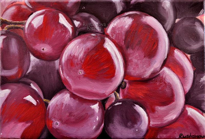 Grapes by Rustamova