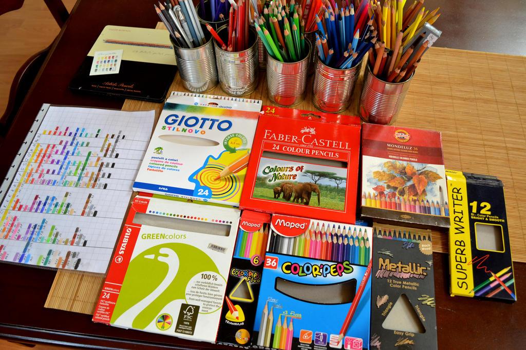 All pencil stuff by Rustamova