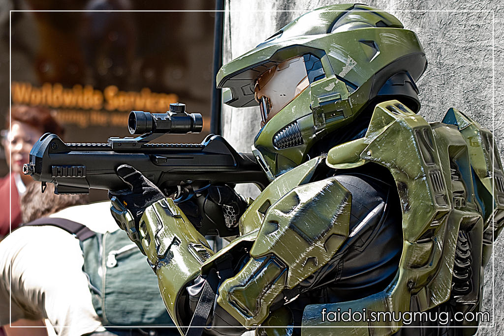 Master Chief by faidoi