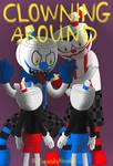 Clowning Around Comic Cover