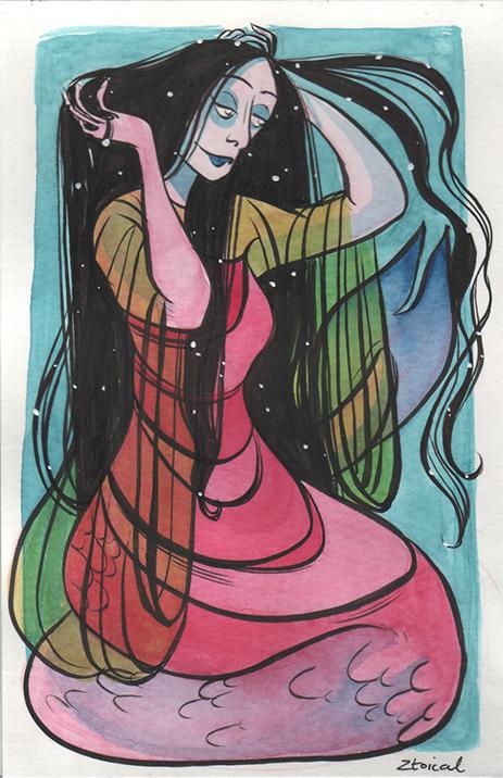 Pink Mermaid by Ztoical