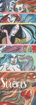 Mermaid Calendar 2017