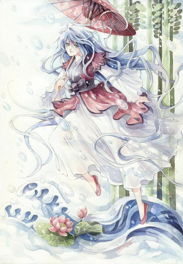 Com: Rhythm of water by meodualeo